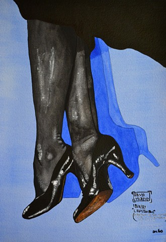 Legs In Blue, 1987, david brendan murphy, cypher, the panic artist
