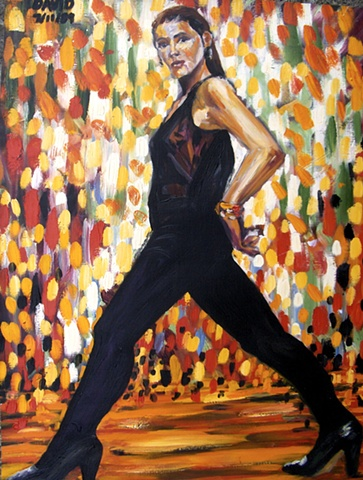 Dancer, 1990, david brendan murphy, cypher, the panic artist