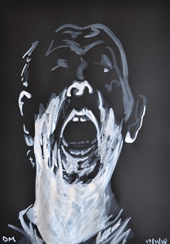 Wraith Self-Portrait No. 3, david murphy, irish, ireland, dublin, artist, painter