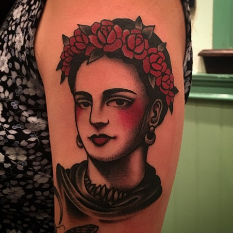 Frida Kahlo Tattoo, Woman Tattoo