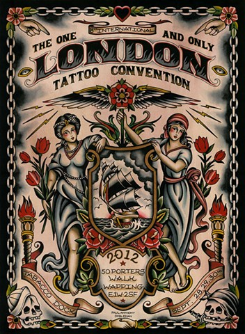 London Tattoo Convention Poster