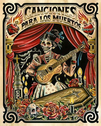 Day of the Dead Poster, Dia de los Muertos