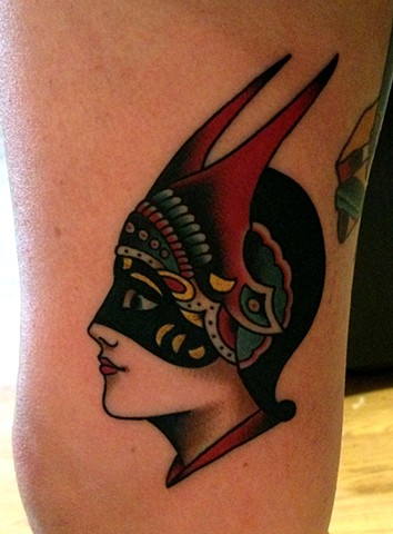 Amund Dietzel Girl Tattoo