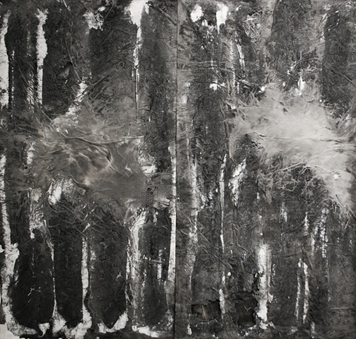Evaporation, Ink on paper, 2011