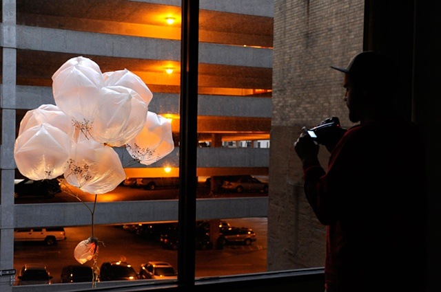 Pig Bladder-clouds in Columbus, OH [2009] by Doo Sung Yoo