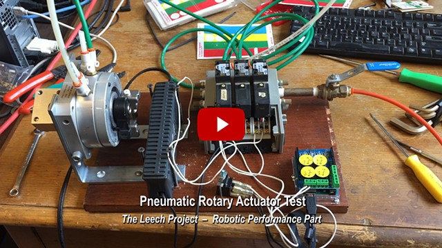 Pneumatic Rotary Actuator Test - Robotic Performance Part