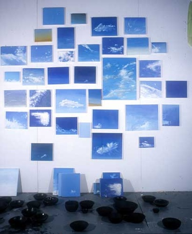 Untitled (sky paintings)