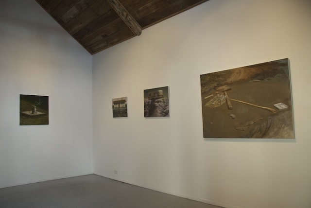Installation view, CUAC February 2011.