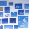 Untitled (sky paintings)