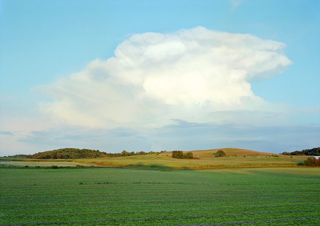 Fields and Clouds (on the road to Shawano)