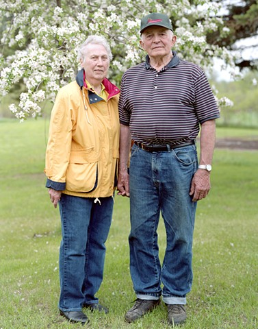 Elmer and Marlene Kepper, Owners of oldest generational farm in Avon.