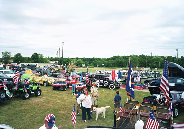 Bonduel 4th of July Parade line up