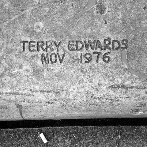Terry Edwards | Lunar Landscape / Austin Sidewalks