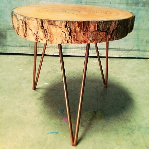 Wood Cookie Table