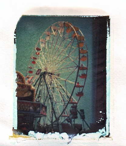 Polaroid dye transfer