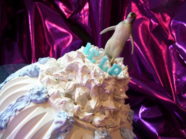 MELTING GLACIER CAKE    2