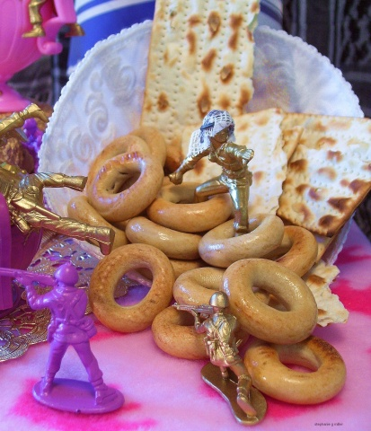 THE  ISRAELI  PALESTINIAN  TEA  PARTY       (THE BATTLE OF THE BAGEL)