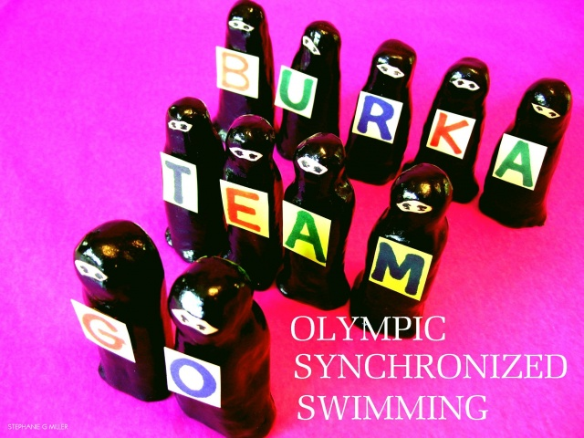OLYMPIC  SYNCHRONIZED  SWIMMING
