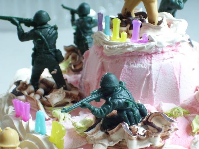 WAR CAKE 1   DETAIL 1