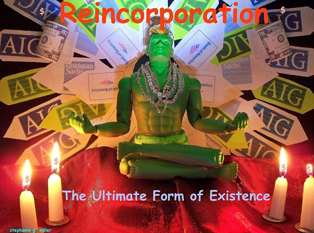 REINCORPORATION-THE ULTIMATE  FORM OF EXISTENCE