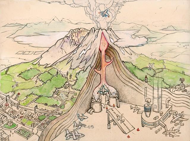 The Secret of Mt. Asama