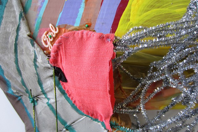 Rainbow Net, detail view
