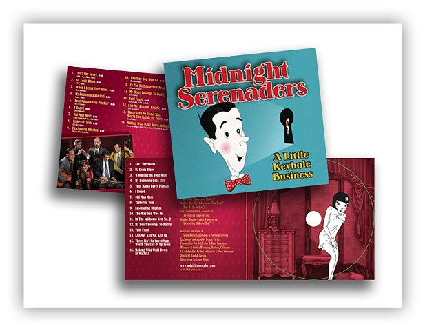 Midnight Serenaders - A Little Keyhole Business