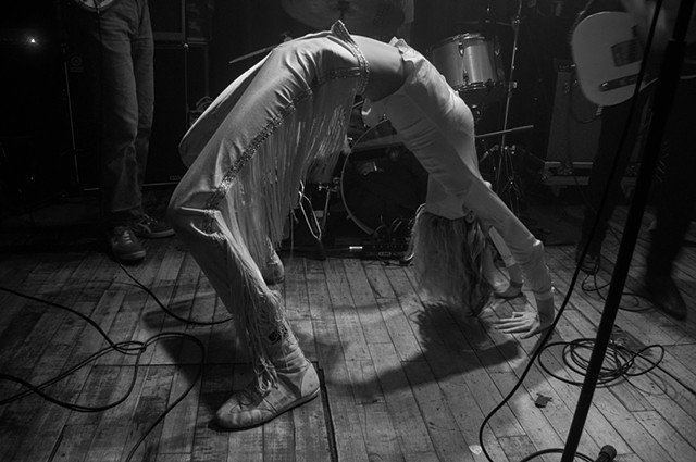 Arrow De Wilde of Starcrawler at Union Pool, Brooklyn