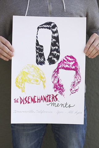 The Disenchantments: Weaverville Poster