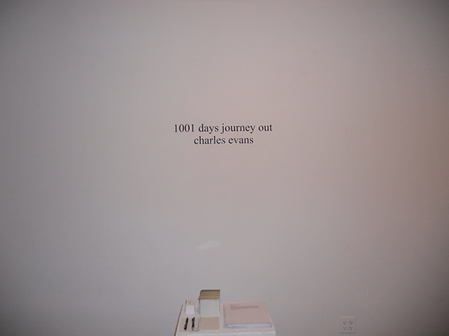 1001 days journey out (title)