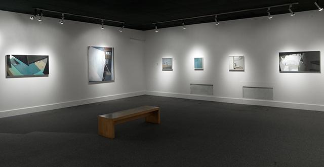 Dana Clancy: Viewing Space installation shot