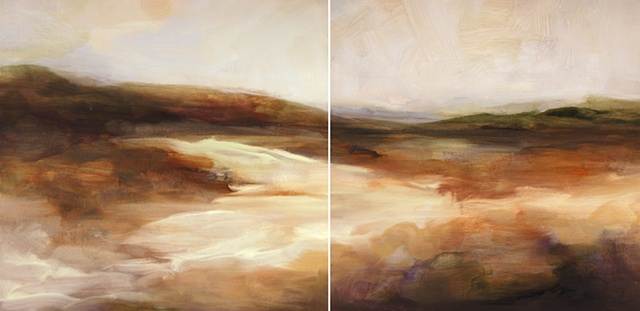 Rough Terrain Diptych