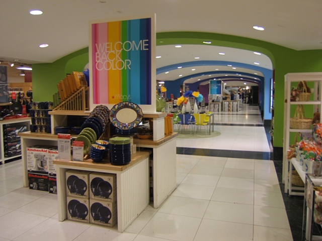 Macy's Corporate Marketing: Welcome Back Color Campaign, Flagship, The Cellar