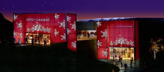 Jersey Gardens Shopping Mall Facade Design