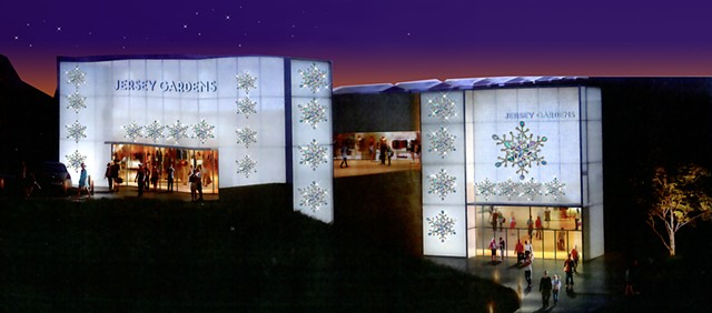 Jersey Gardens Shopping Mall Holiday Decor Program