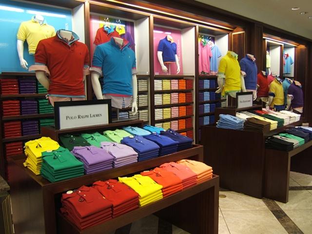 Macy's Corporate Marketing: Welcome Back Color Campaign, Polo Ralph Lauren Vendor Shop