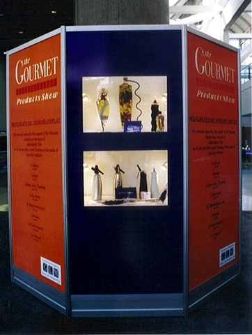 George Little Management: Custom MIS Walls for Gourmet Products Show