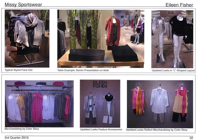 Lord and Taylor Corporate Communications: Sportswear Guideline Page, Eileen Fisher