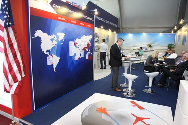 US International Lounge at Seoul Airshow