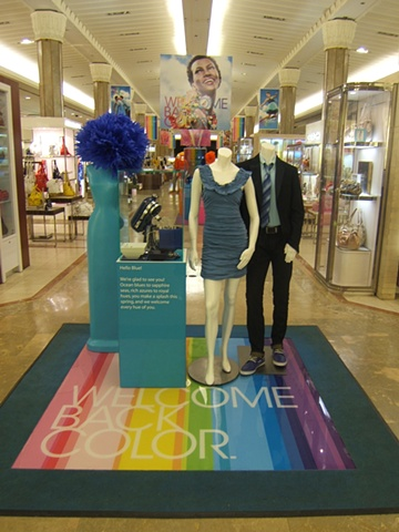 Macy's Corporate Marketing: Welcome Back Color Campaign, Flagship Main Entry