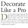 """George Little Management: Press Coverage, Article """"Decorate Like a Pro"""", Gifts and Dec Magazine  in partnership with the New York International Gift Fair"""