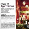 """George Little Management: Press Coverage, Article """"Show of Appreciation"""", Home Fashion News (HFN) in partnership with the Gourmet Products Show"""