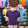 Macy's Corporate Marketing: Welcome Back Color Campaign, Polo Ralph Lauren Dress Forms