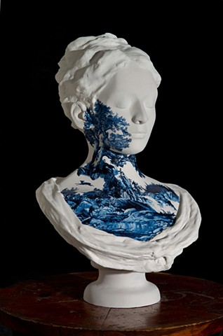 Waterfall Bust