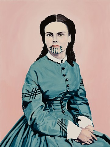 Olive Oatman Seated