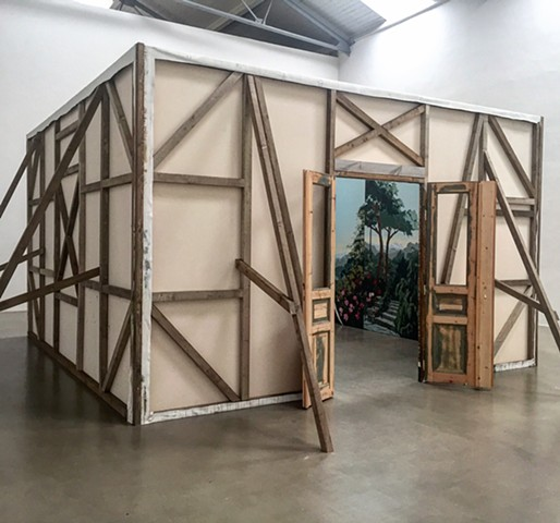 Installed at Galerie EIGEN + ART, Leipzig, Germany in April 2017