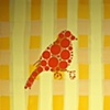Orange Dot Goldfinch #1