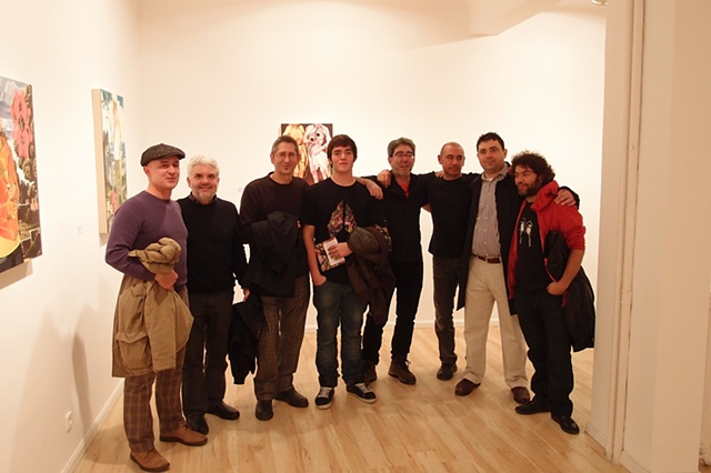 Back From Paradise/Evelyn Botella.    Left to right: Julian Valle, Rufo Criado, Pepe Ortega, Adrian Valle, Jesus Max, Gerardo Rubia, Iñaki Aurteneche and Alfredo Criado.