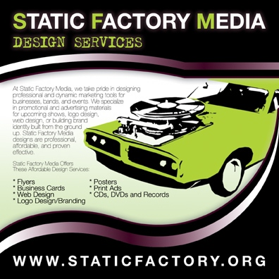 Static Factory Media : Press Kit