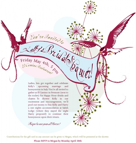 Kelly Tortorice Bridal Shower Invite